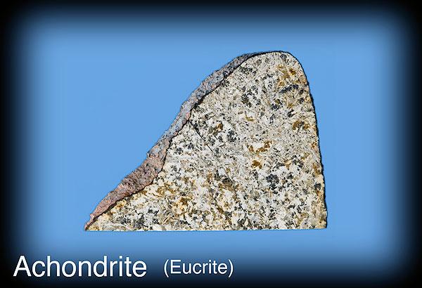 Achondrite meteorite (Eucrite)