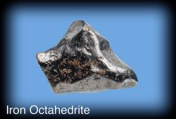 Iron Octahedrite from Meteor Crater, Arizona